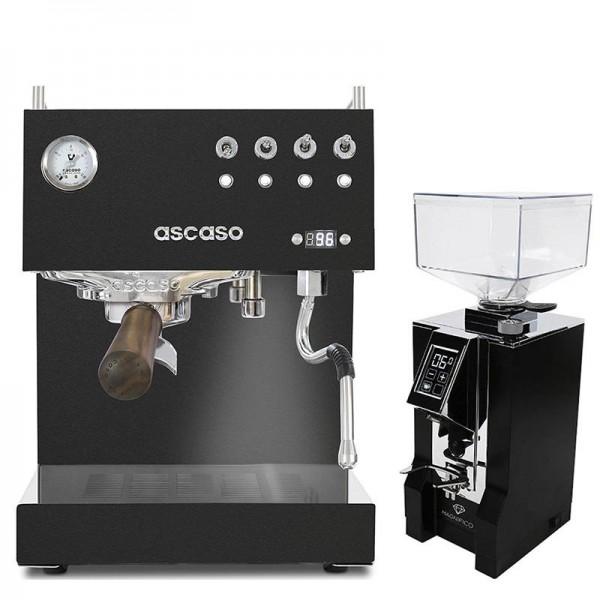 Set Ascaso Steel Duo PID 2020 + Eureka Specialita