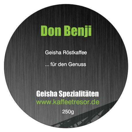 Geisha Don Benji, Panama