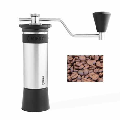 Handmühle Kinu M47 Phoenix inkl. Geisha Kaffee